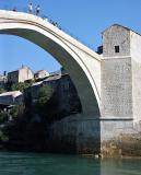 Stari Most - preparing to dive
