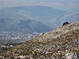 Blagaj - view towards Mostar