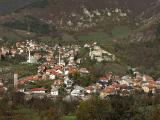 Travnik - fortress and old town