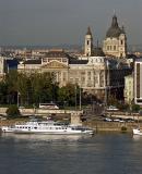 Danube and St Stephen's Basilica