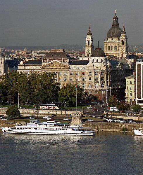 Danube and St Stephens Basilica