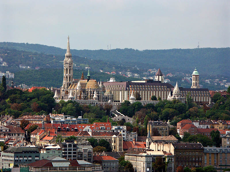 View from St Stephens Basilica