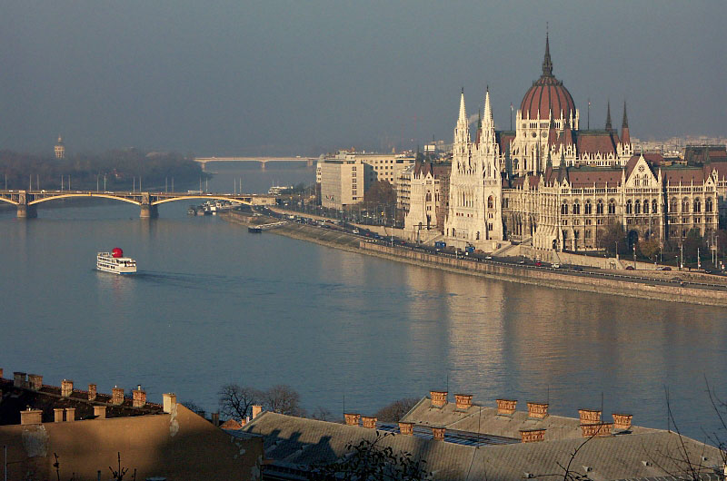 Parliament and the Danube
