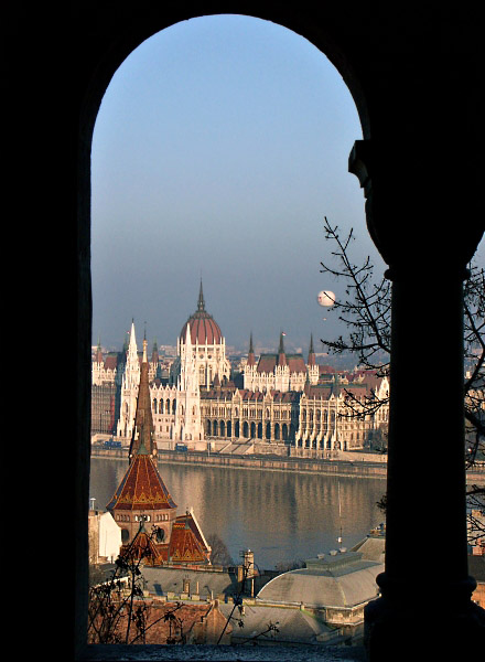Parliament from the Fishermens Bastion