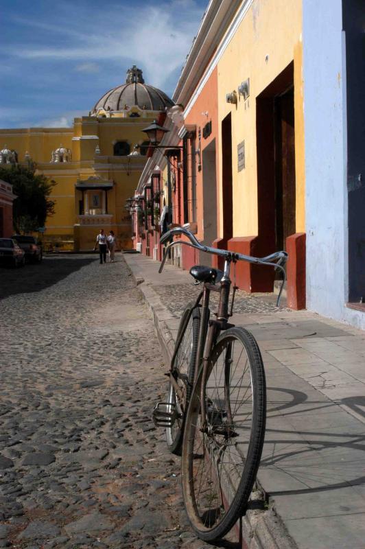 road to Iglesia y Convento de Nuestra Senora de La Merced