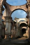 ruins of old Catedral de Santiago