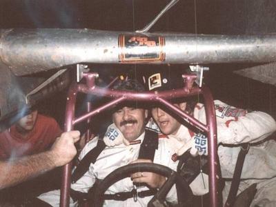 Steve Cavanah and  Andy Kirby 1985