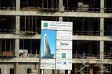 Etisalat's new tower on the Trade Center Roundabout