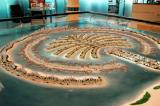 Architectural model of the Palm Jebel Ali