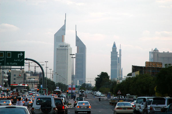 Emirates Towers from Karama
