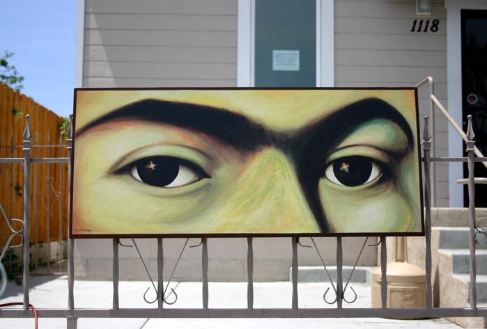 Eyes of Frida Kahlo