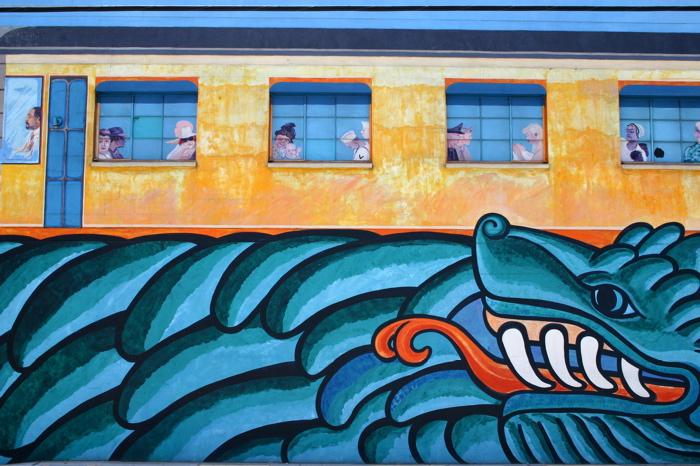Trolley Mural II