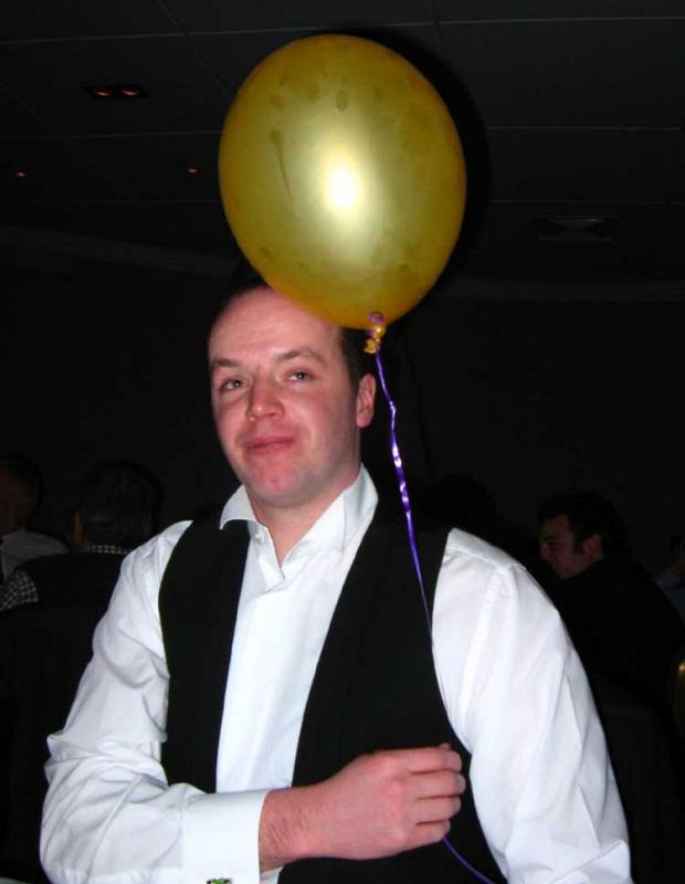Gordie and Balloon