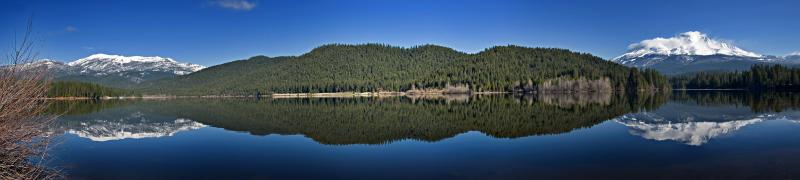 Lake Siskiyou Panorama