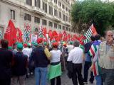 Communists March