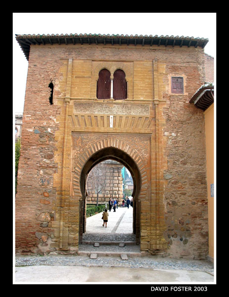 toll gate to alcazaba