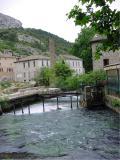 La Fontaine de Vaucluse in Provence