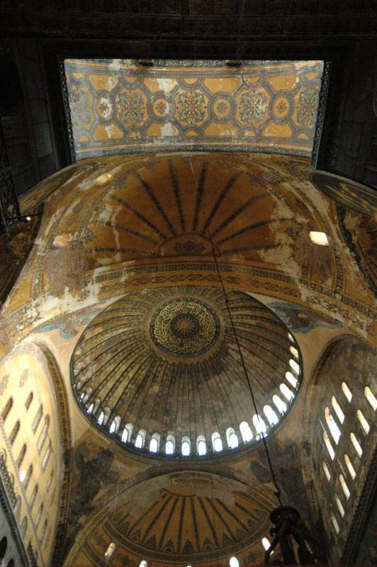 Istanbul Aya Sofya imperial entrance