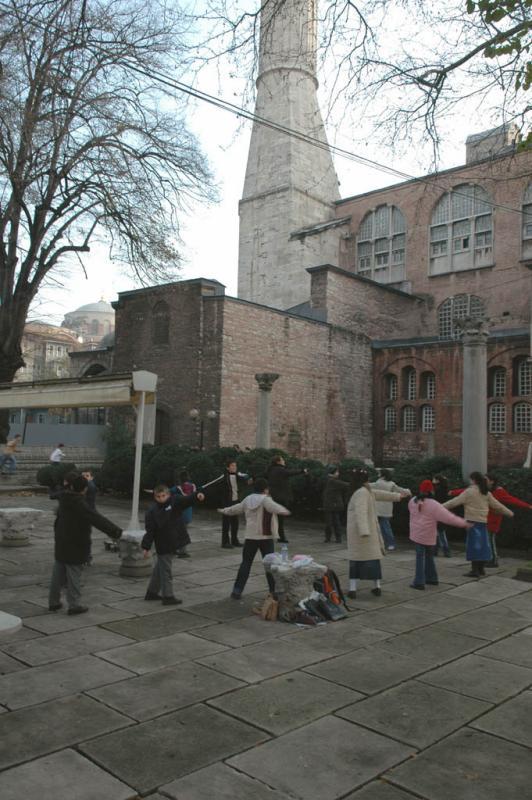 Istanbul Aya Sofya kids