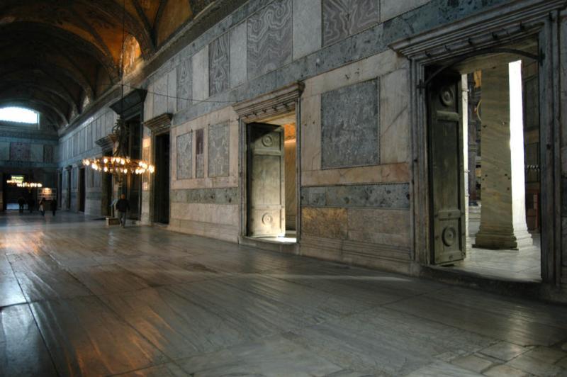 Istanbul Aya Sofya in esonarthex