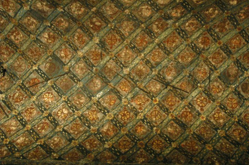 Istanbul Aya Sofya ceiling