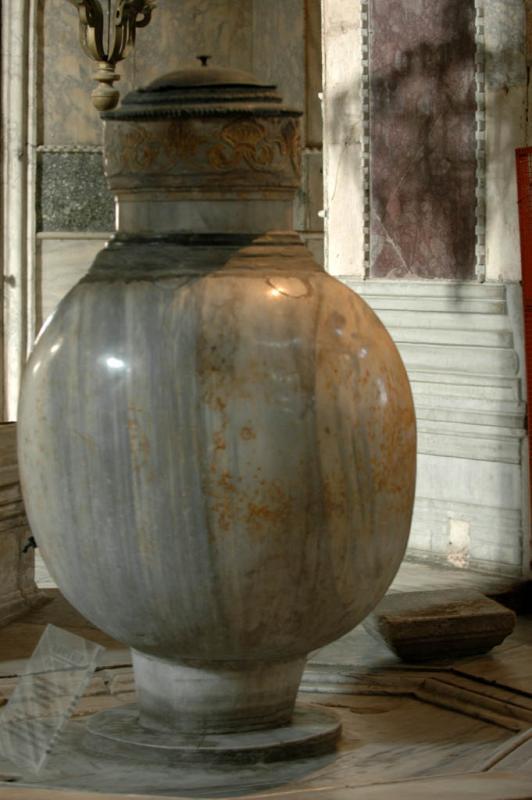 Istanbul Aya Sofya huge vat