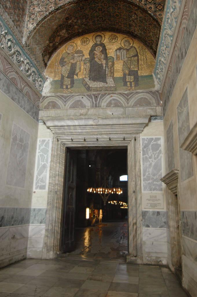 Istanbul Aya Sofya present entrance