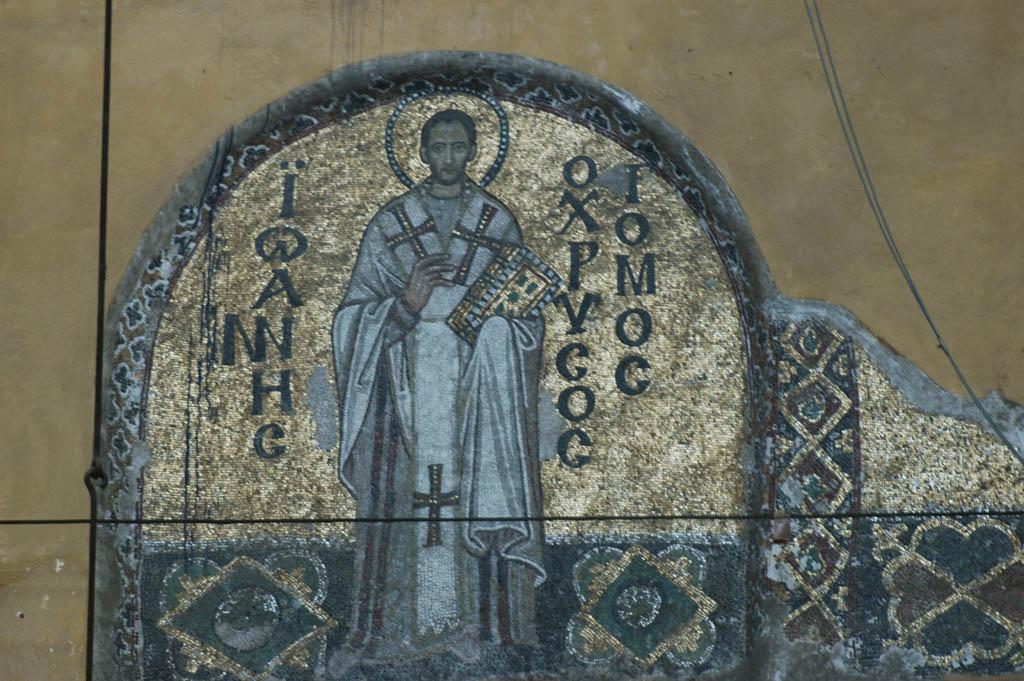 Istanbul Aya Sofya evangelist or saint
