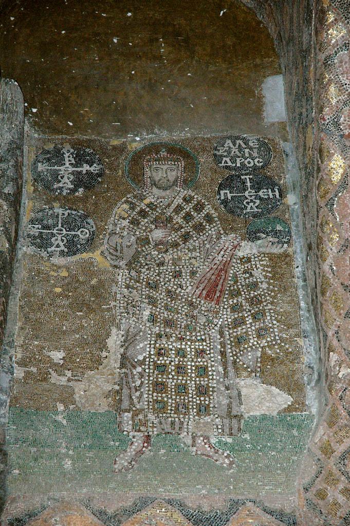 Istanbul Aya Sofya mosaic