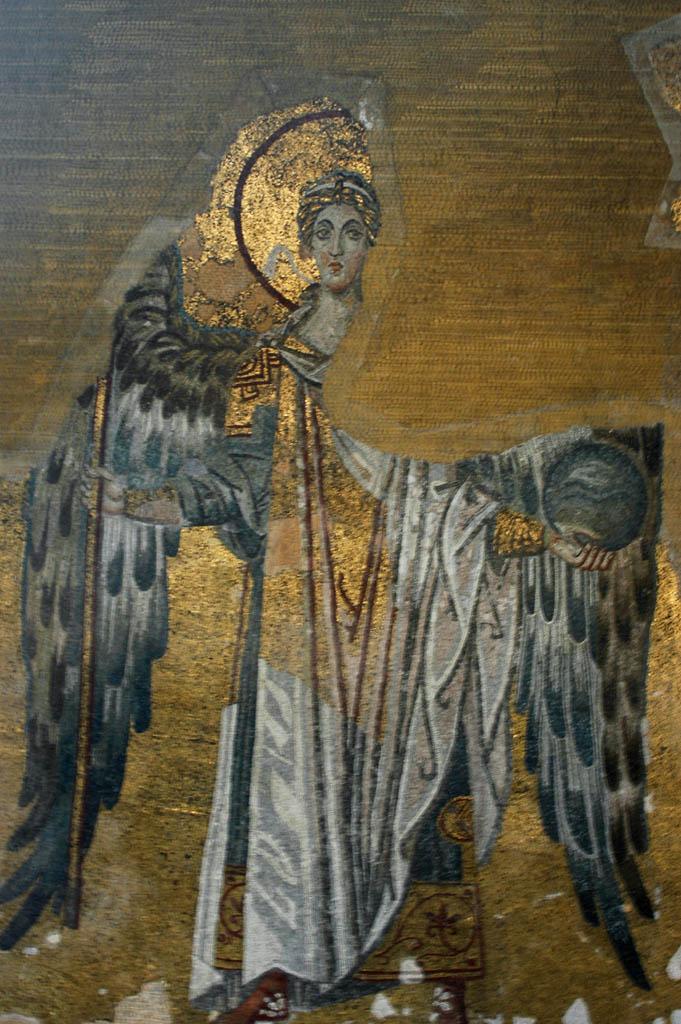Istanbul Aya Sofya angel mosaic