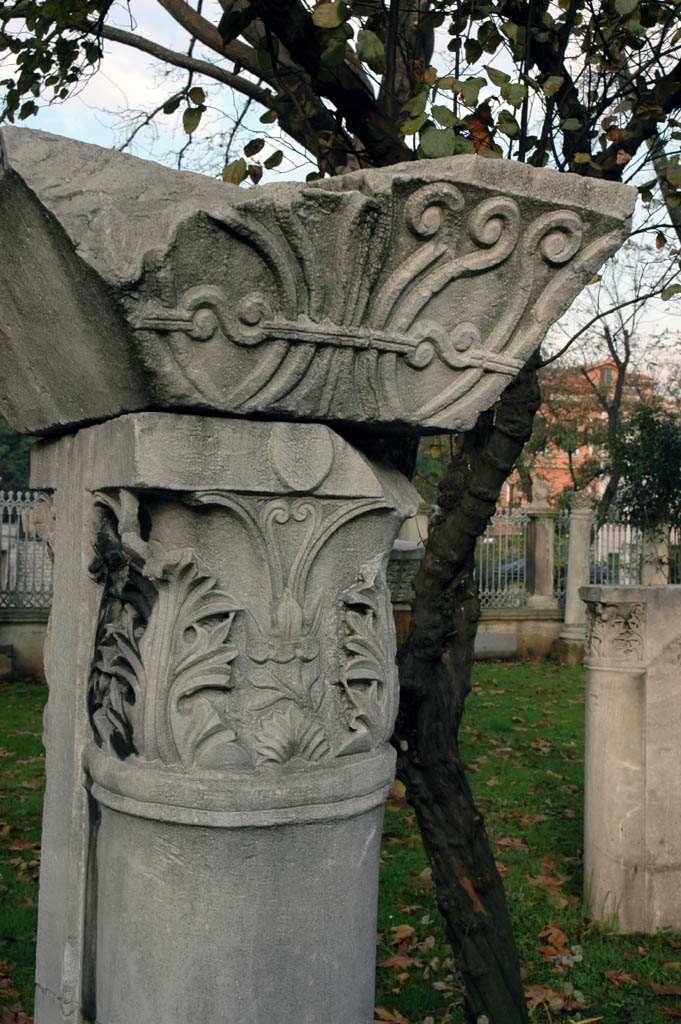 Istanbul Aya Sofya elements from earlier church