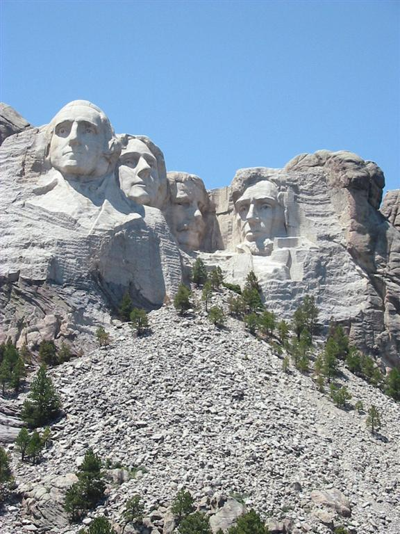 Mt. Rushmores Great Faces