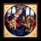 La Vierge et l' enfant ( 1490) par Domenico GHIRLANDAJO