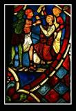 13th century Stained glass