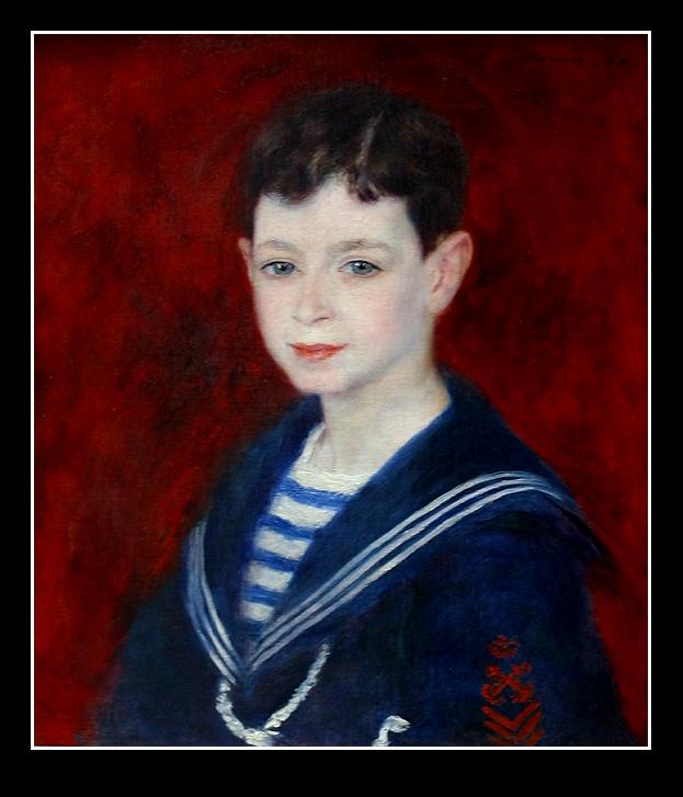 Pierre-Auguste Renoir  -  Fernand Halphen enfant