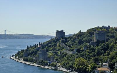 Rumeli Hisar from Fatih Sultan Mehmet Bridge