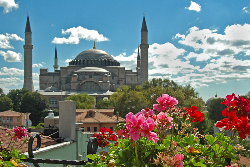 Aya Sofya brilliant view