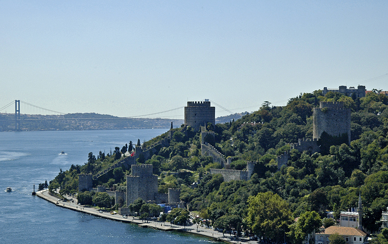 Rumeli Hisar from Fatih Sultan Mehmet Bridge
