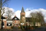 Zuidwolde - Café Vaatstra en NH kerk