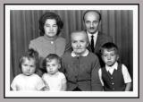 Mr. and Mrs. Vladimir Szaryj, their children and Grandma Szaryj