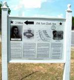 Old Fort Clark Site - Marker 3b