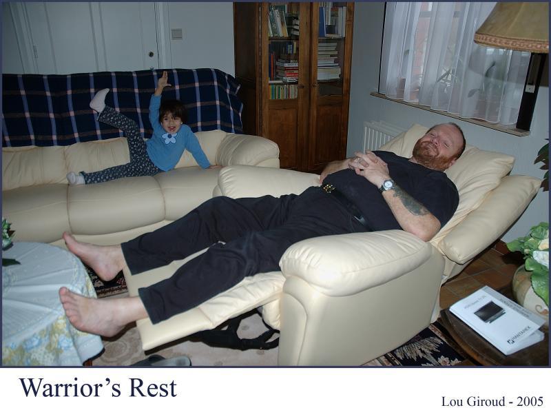 Warriors rest -  April 01 - 05