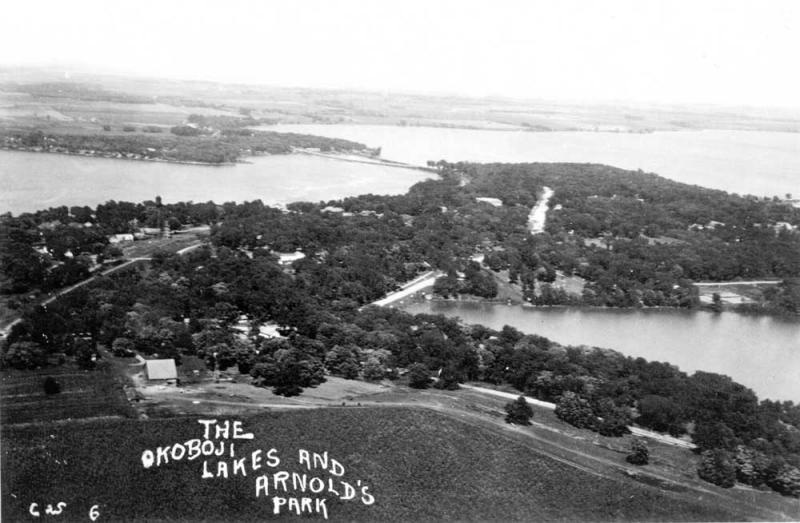 Okoboji Arnolds Park about 1928