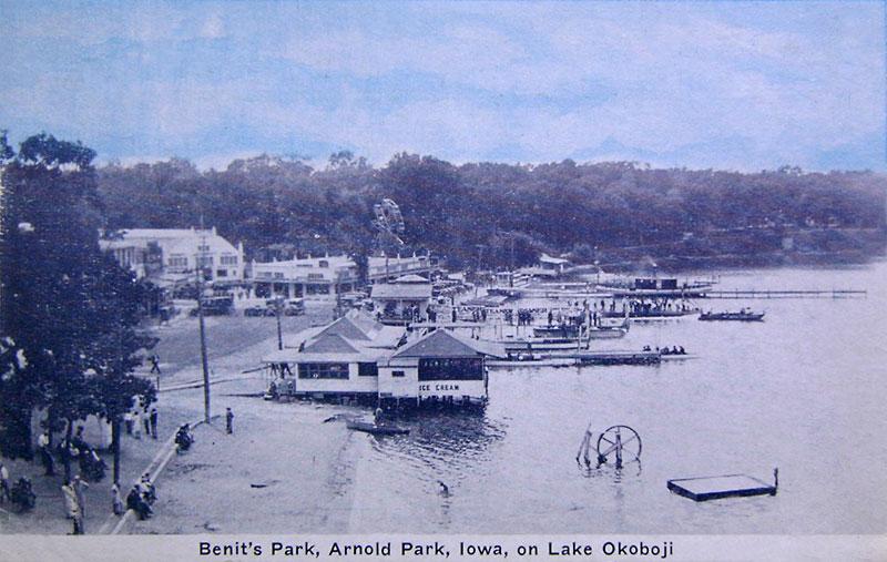 Benits Park Arnolds Park Iowa