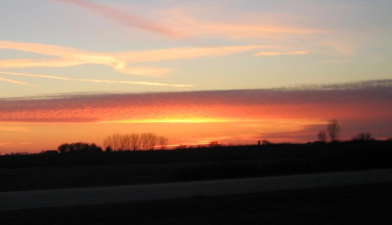 along Interstate 90   ii