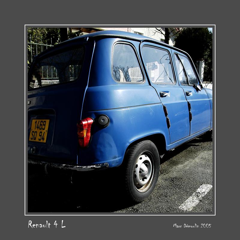 RENAULT 4 L Joinville - France