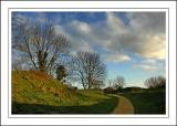 Footpath ~ Ham Hill, Somerset