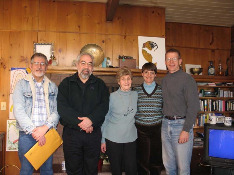 Harry Majors, John Roper, Doe (Doris) Burn, Karen Nolan, John Scurlock