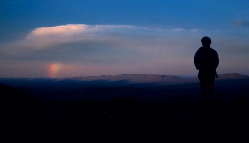 Arctic Sunrise:  Richardson Range, Canadas Western Arctic