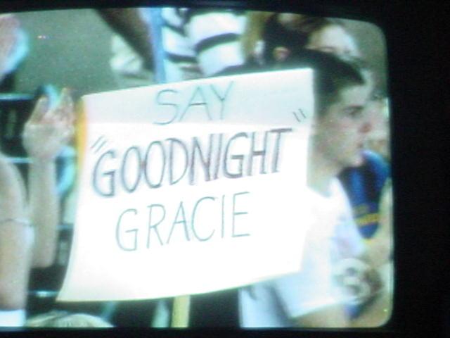 Mark Grace last game in a Diamondbacks uniform